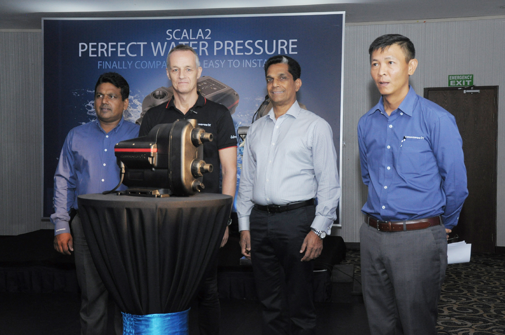 GRUNDFOS SCALA2 Water Booster Pump launched in to Sri Lankan market