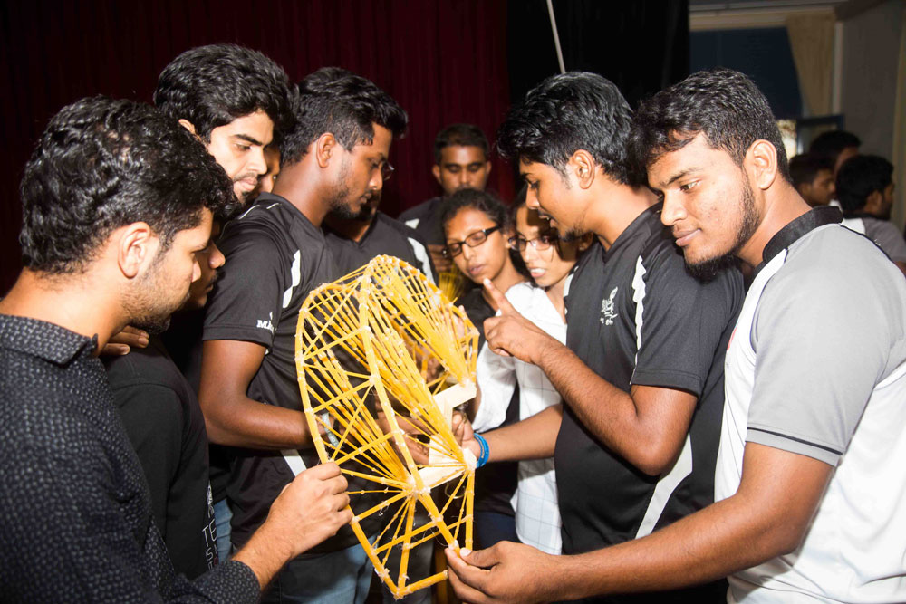 Spaghetti Bridge Competition Seeking Out Those with Mettle