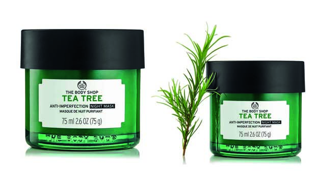 Wake Up Blemish-Free: The Body Shop introduces the Tea Tree