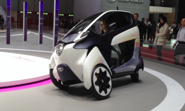 Toyota i-Road Car-Sharing Program Expands to Grenoble in