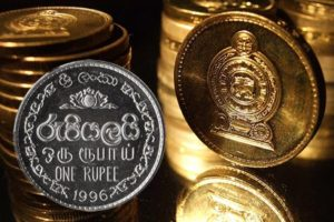 Sri Lankan rupee pulls back from record low after cenbank intervention